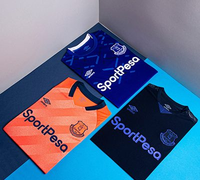 Camiseta de Everton Replica Baratas