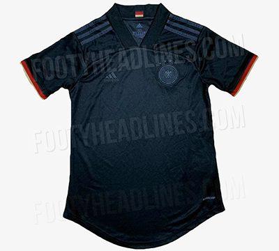 Camiseta Alemania Copa de Europa Segunda 2020