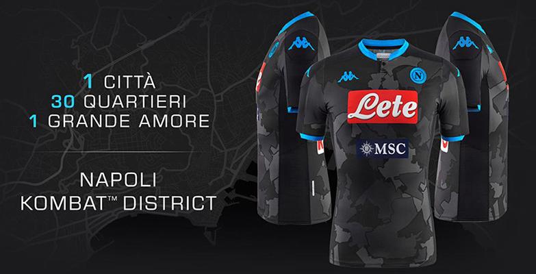 SSC Napoli Camiseta Race District 2019/2020