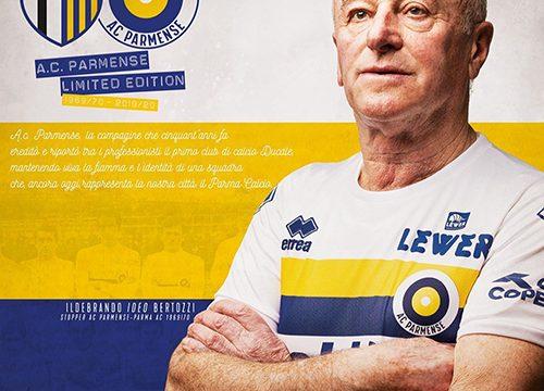 Parma lanza jersey de edición limitada para el 106 aniversario del club