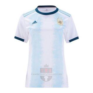 Camiseta Argentina Primera Mujer 2019