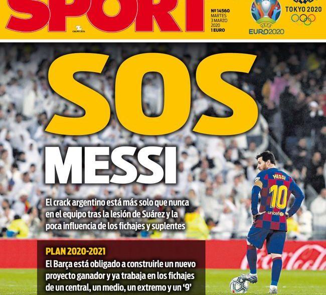 Messi, SOS!
