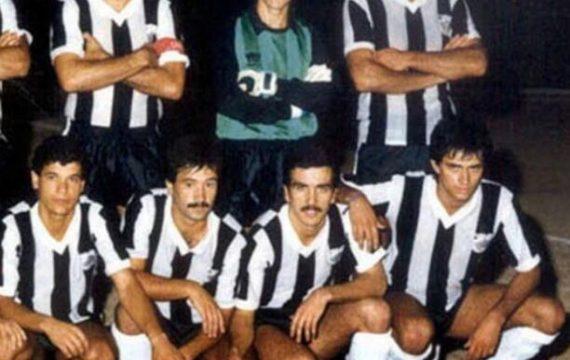 José Mourinho en su juventud