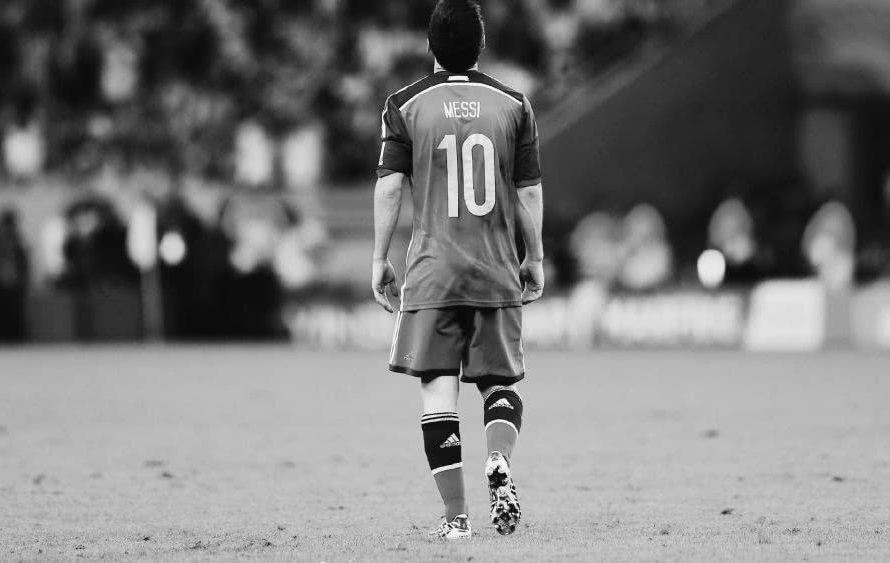 La vergüenza de Messi!